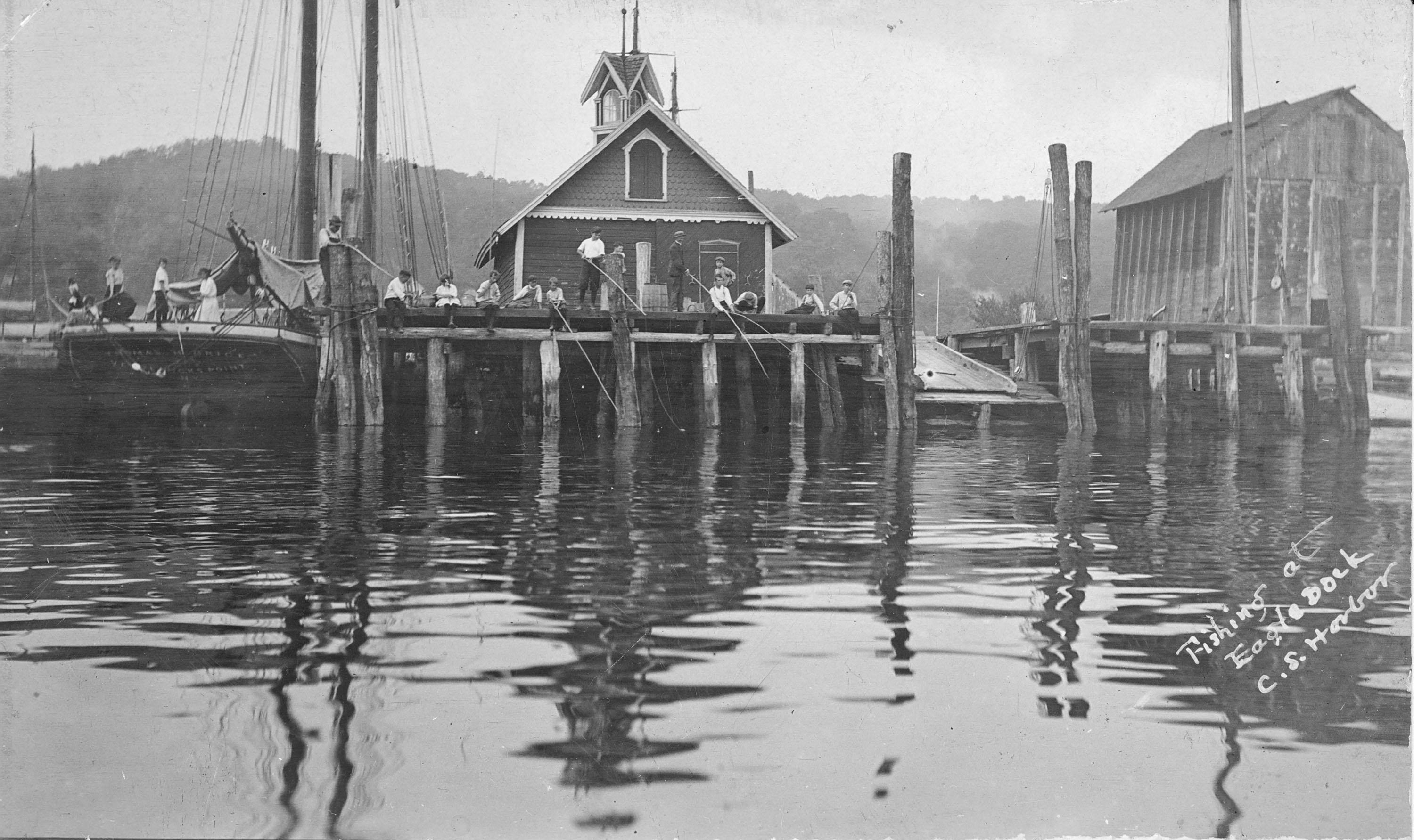 Cold Spring Harbor Huntington History