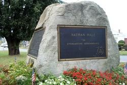 Nathan Hale Rock