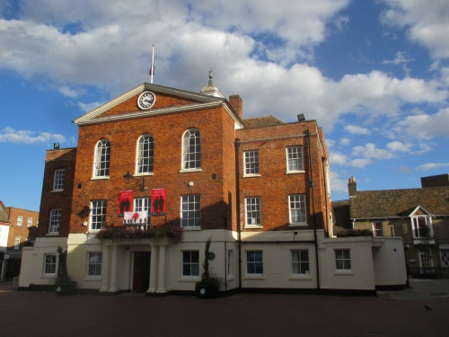 Huntingdon Town Hall built in 1740