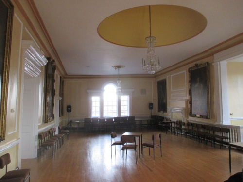 The Assembly Room in Huntingdon's Town Hall