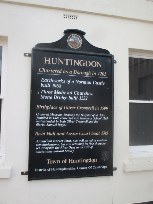 Facts about Huntingdon