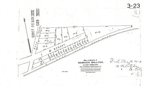 The 1905 Subdivision
