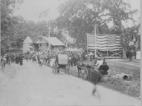 The July 4, 1894 dedication of the new memorial