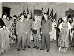 Huntington Historical Society costume exhibt at Heckscher Musuem1948